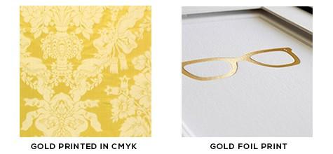 Gold Foil Printing Methods