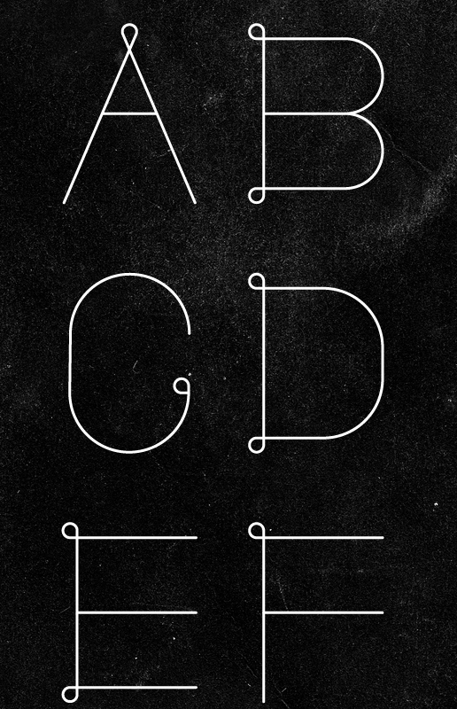 In The Loop Font Designed by Patrick Seymour