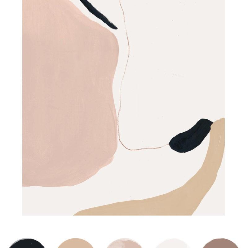 Color Palette Inspiration, Nudes