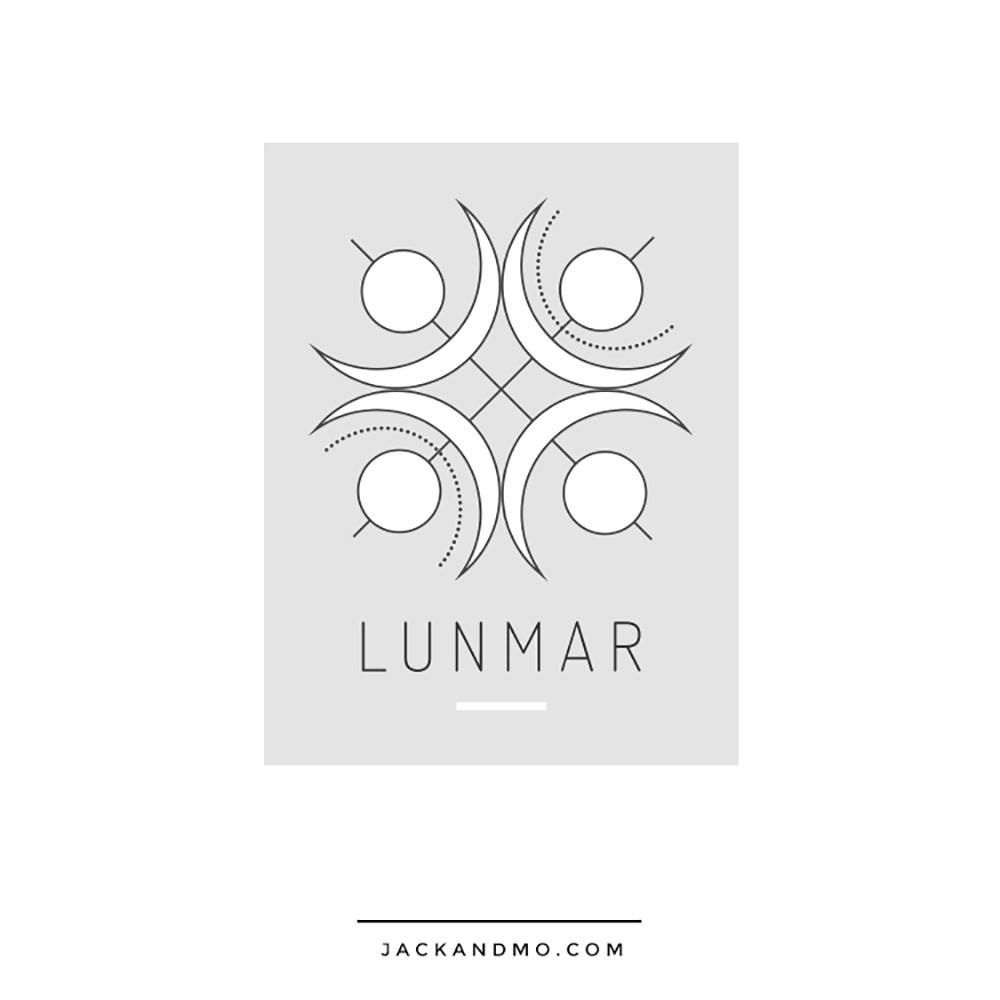 Simple Minimalist Logo Design, Custom, Healer, Positive Energy by Jack and Mo