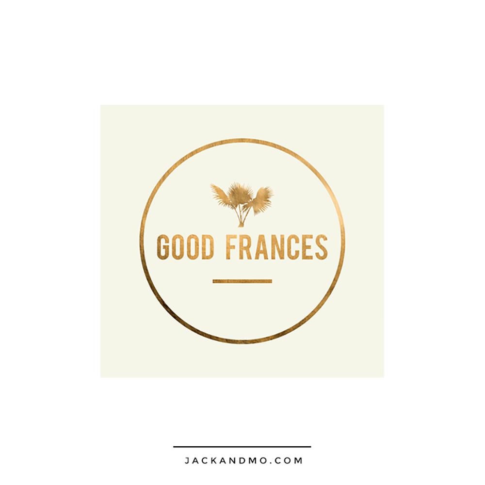 Good Frances Logo Design