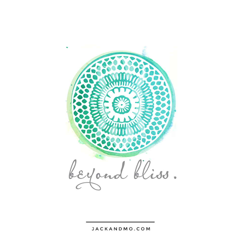 Watercolor Paint Painted Custom Logo Design by Jack and Mo, Yoga, Pilates, Healers