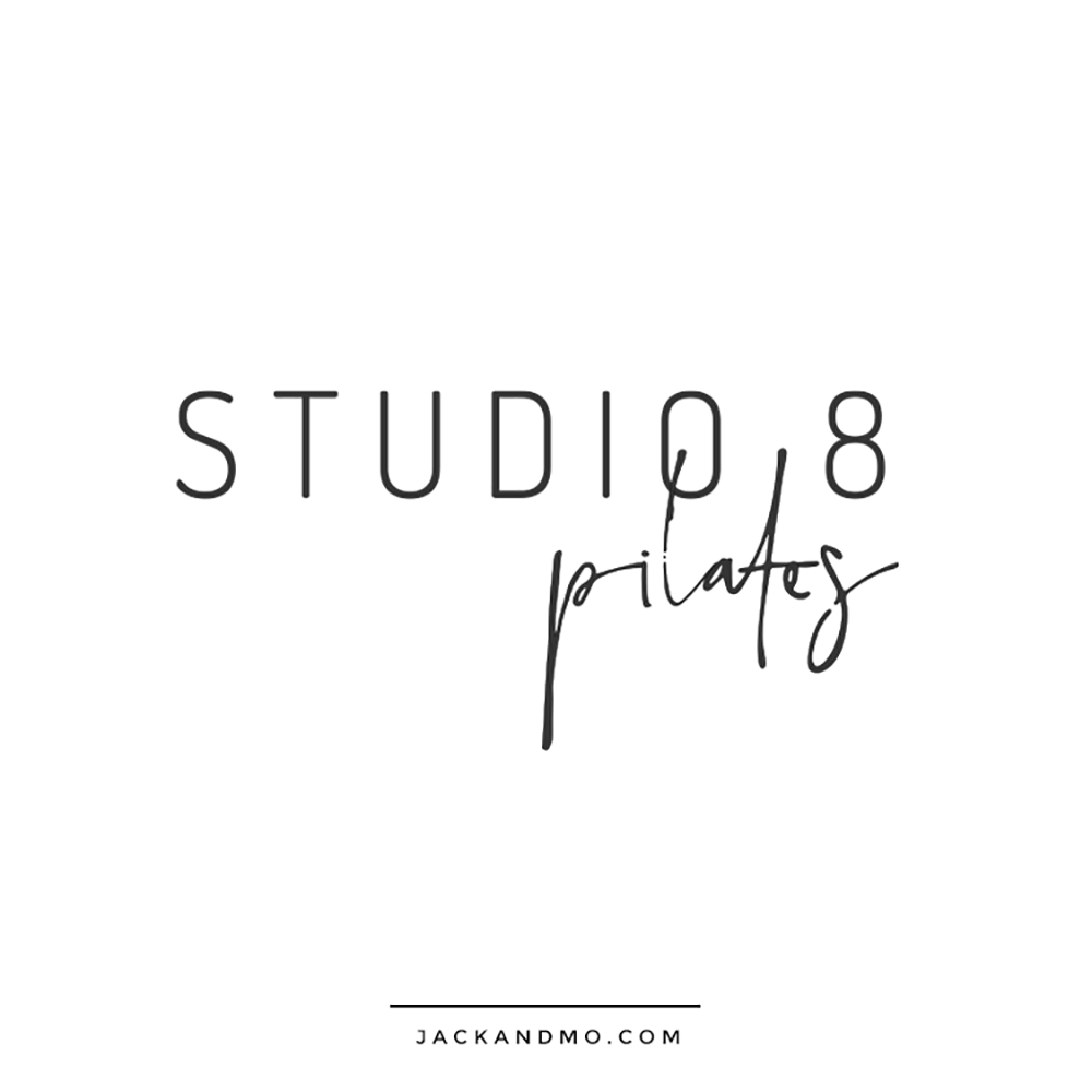 Pilates Barre Yoga Studio Logo Design