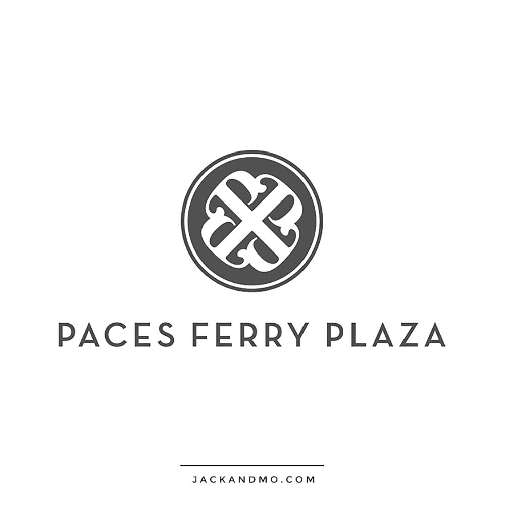Plaza Shopping Center Creative Logo Design by Jack and Mo