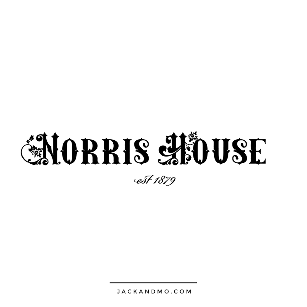 Norris House Raleigh NC Custom Logo Design by Jack and Mo