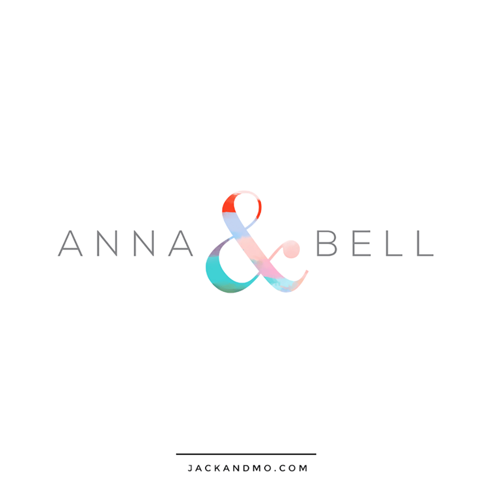 Clean Simple Modern Painted Logo Design by Jack and Mo
