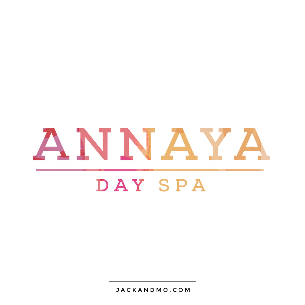 Day Spa Logo Design with Gorgeous Painted Colors, by Jack and Mo