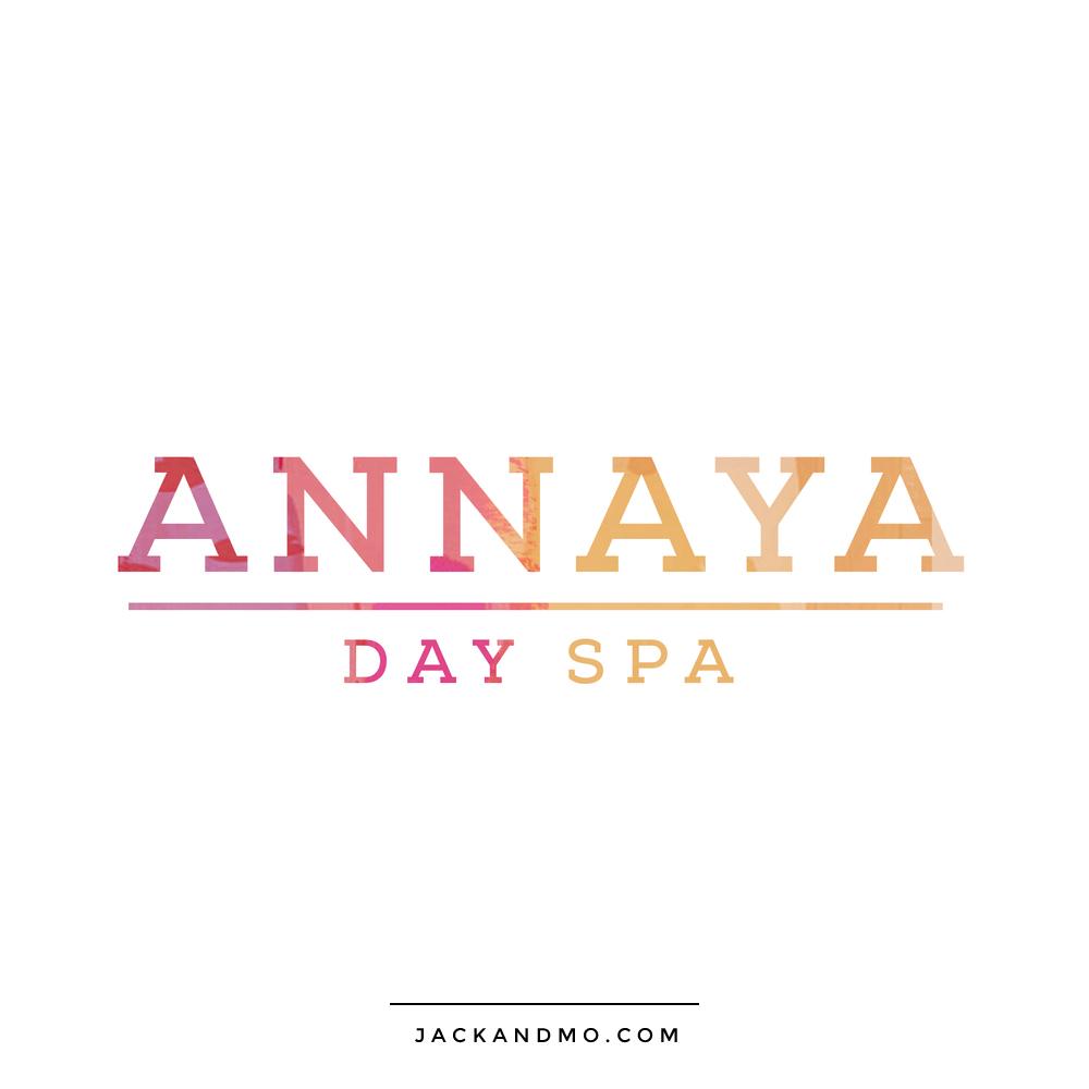 annaya_day_spa_logo_design