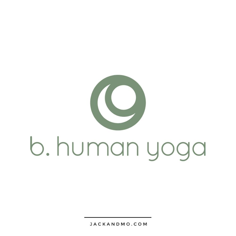 Yoga Studio Custom Logo Design, Modern, Minimalist, by Jack and Mo