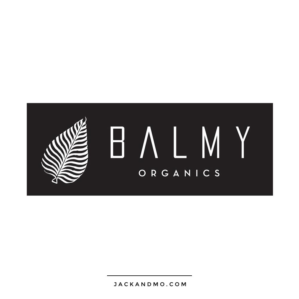 balmy_organics_logo_handdrawn_leaf