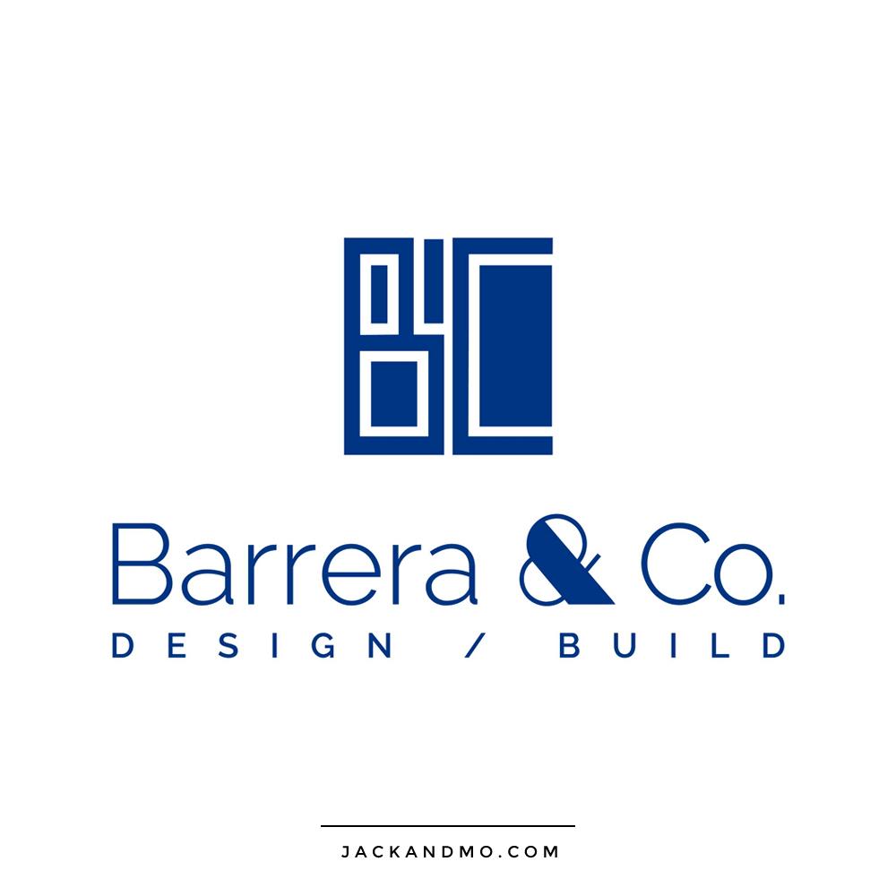 barrera_and_co_design_build_logo_design
