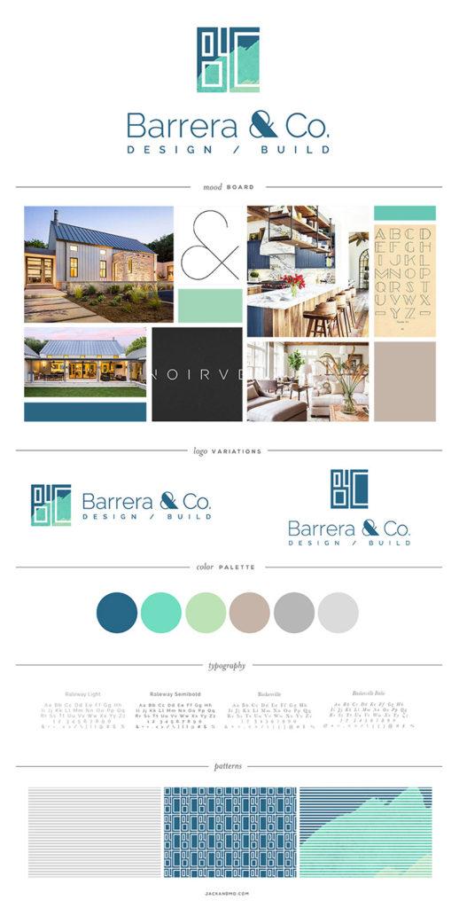 Barrera Logo Design and Branding, Jack and Mo, Raleigh, NC