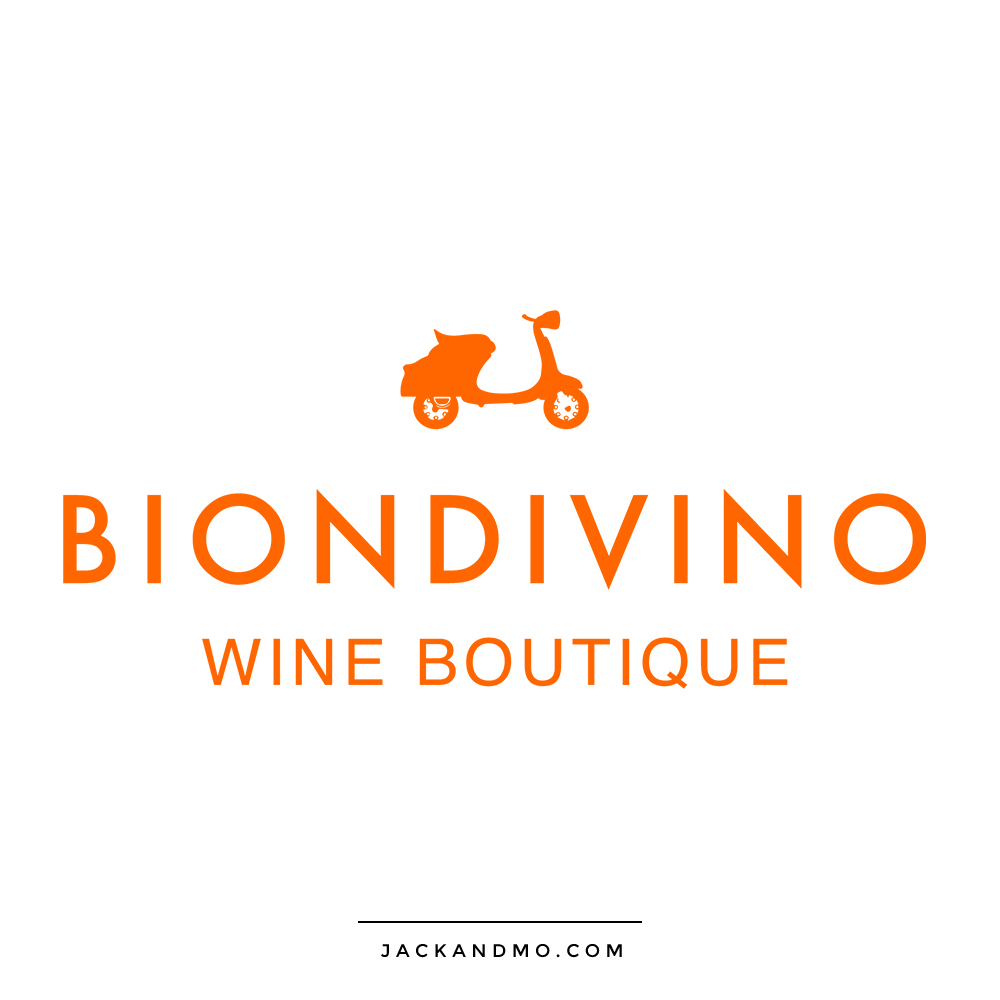 Wine Boutique Creative Boutique Custom Logo Design by Jack and Mo Raleigh NC