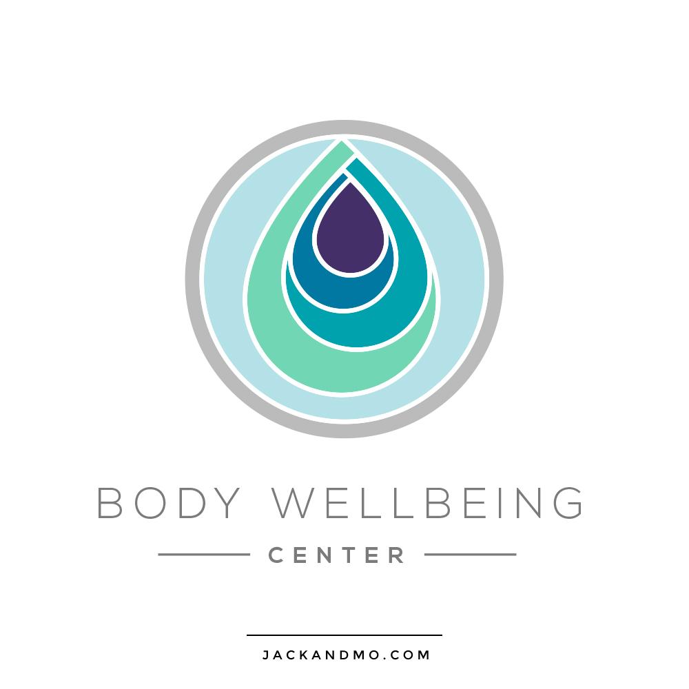 body_wellbeing_center_custom_logo_design