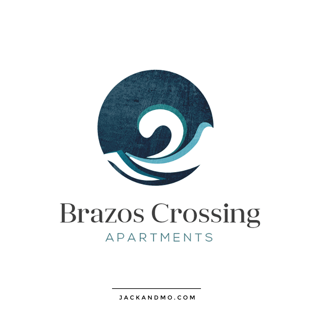 brazos_crossing_apartments_logo_design