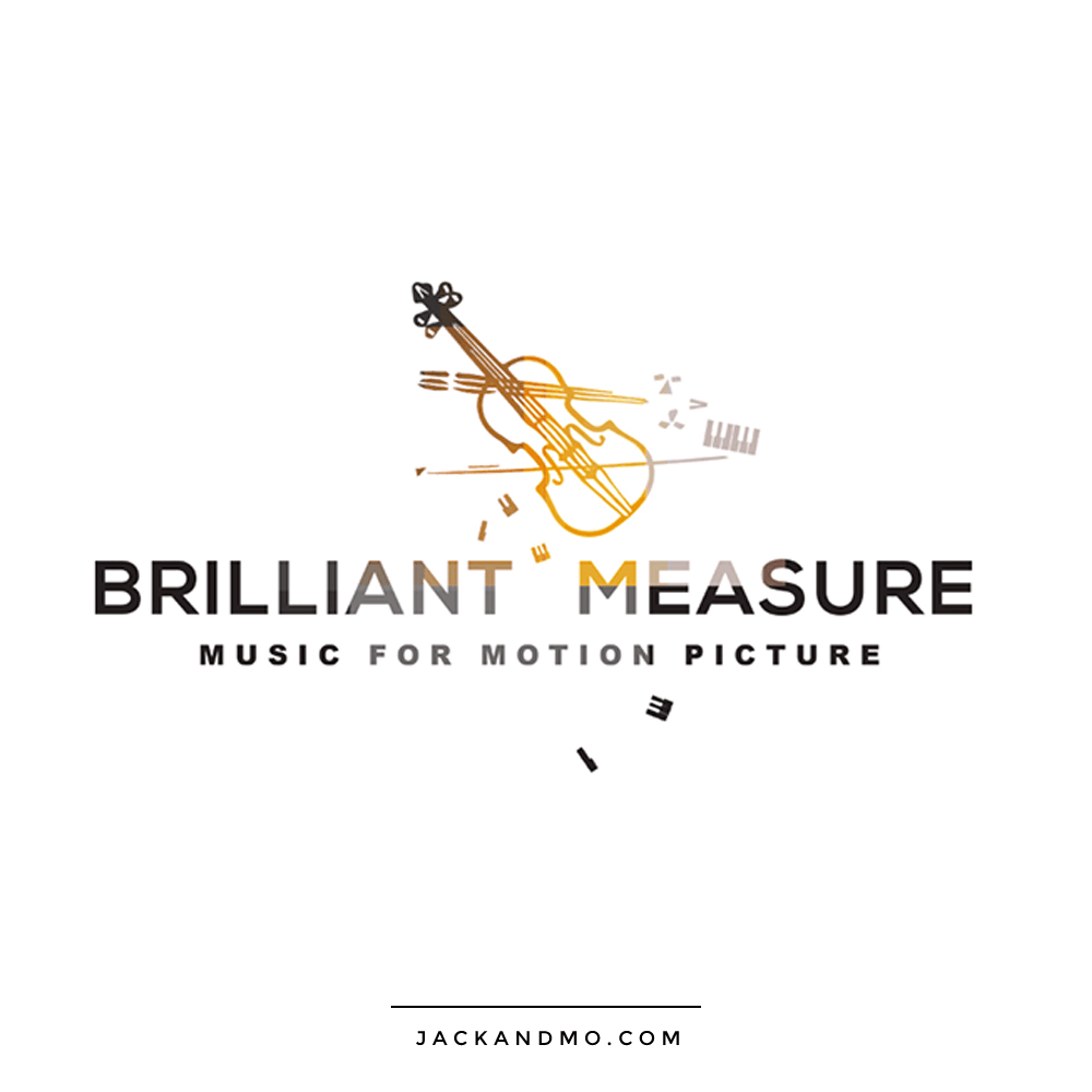 Music Studio Recording Studio Amazing Custom Logo Design Gold by Jack and Mo Raleigh NC