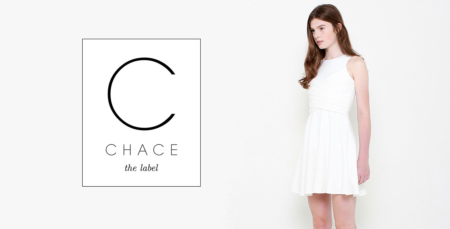 Chace, the label, logo design for fashion brand