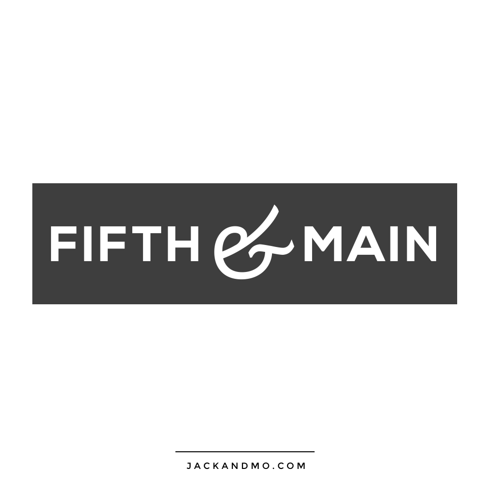 Simple Chic Custom Logo Design, by Jack and Mo