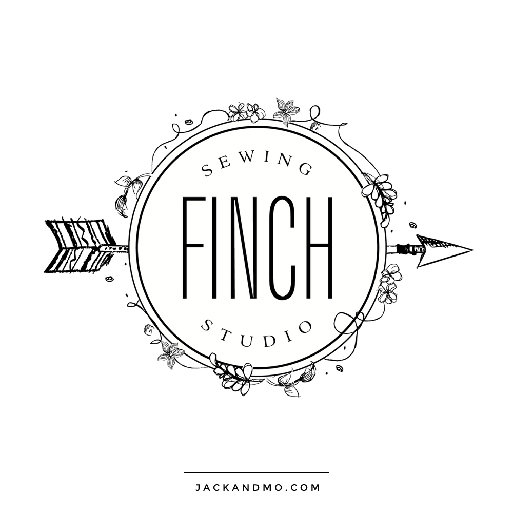 finch_sewing_studio_logo_hand_drawn_black_and_white_logo
