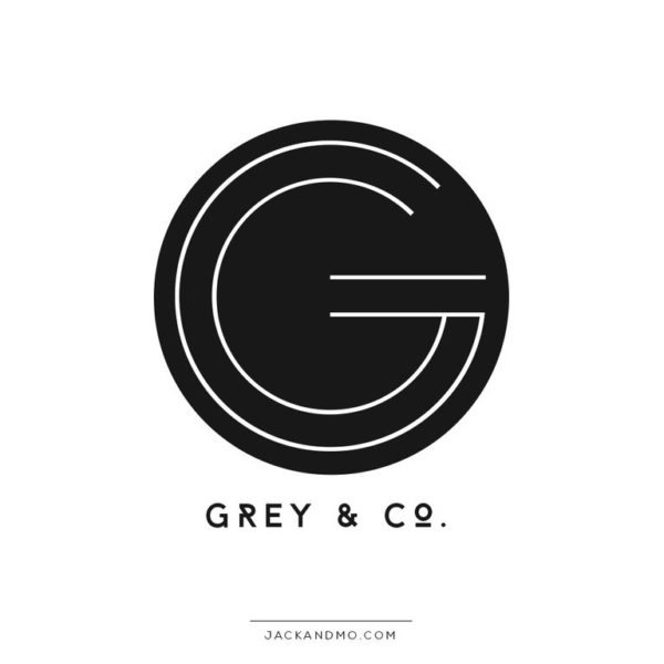 Geometric Initial Premade Logo