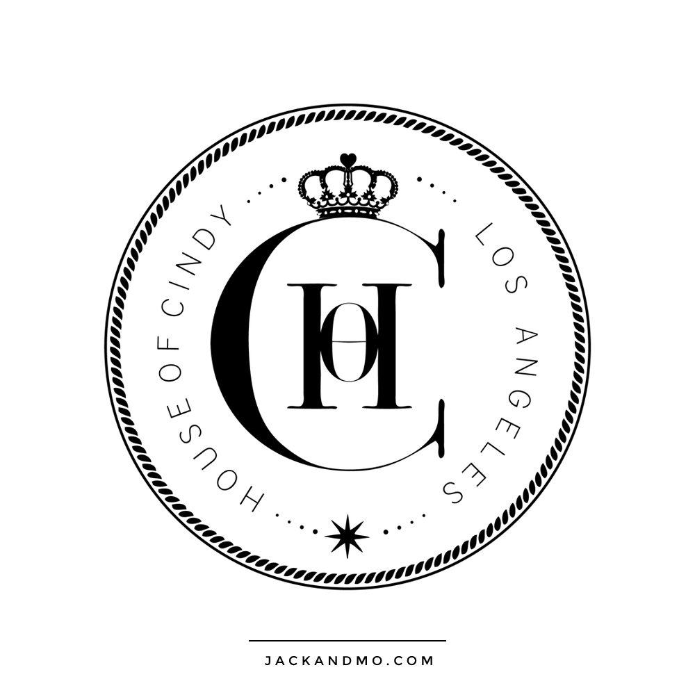 Seal Watermark Logo Design in Black and White Boutique Design by Jack and Mo Raleigh NC