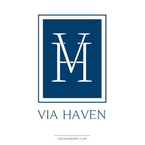Initials Monogram Premade Logo Design