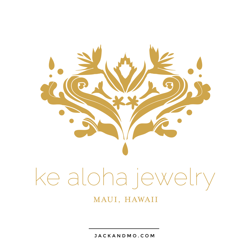 Hand Drawn Gold Logo Design for Jewelry Company by Jack and Mo