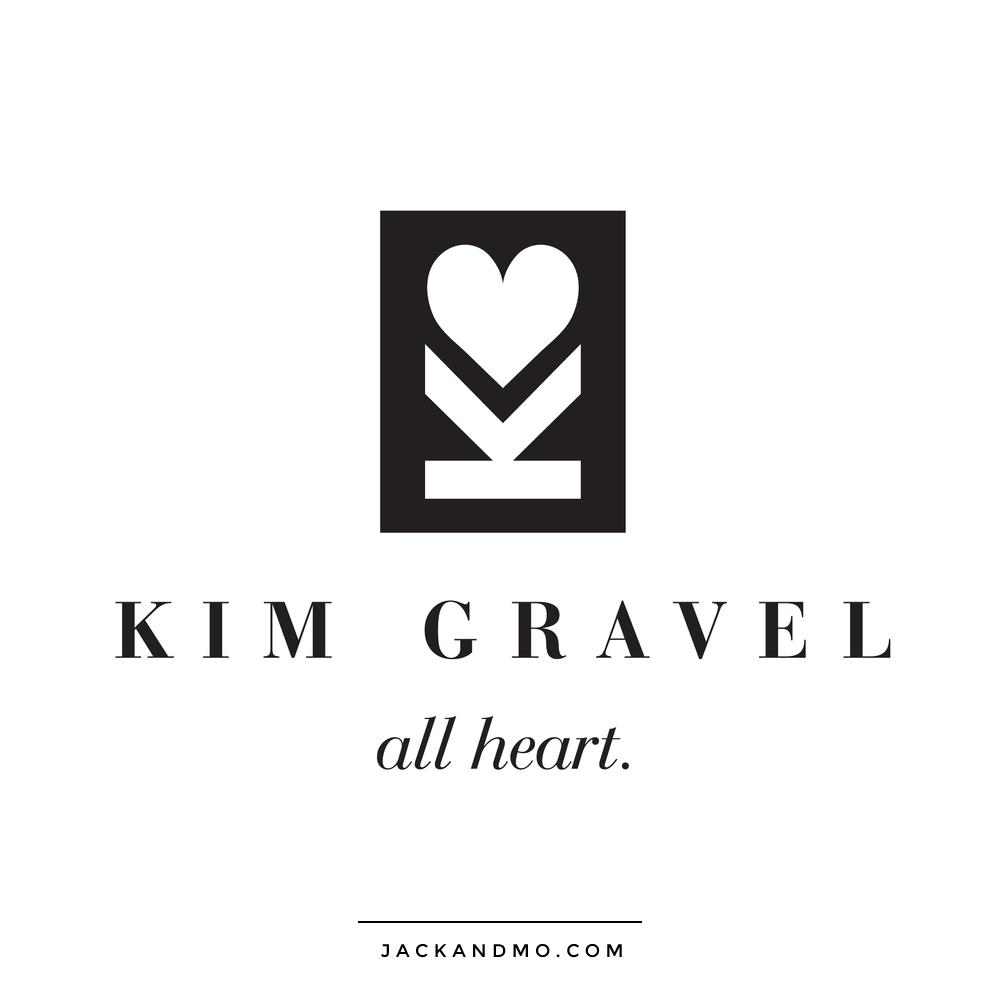 Kim Gravel Lifetime Amazing Woman! Custom Logo Design by Jack and Mo