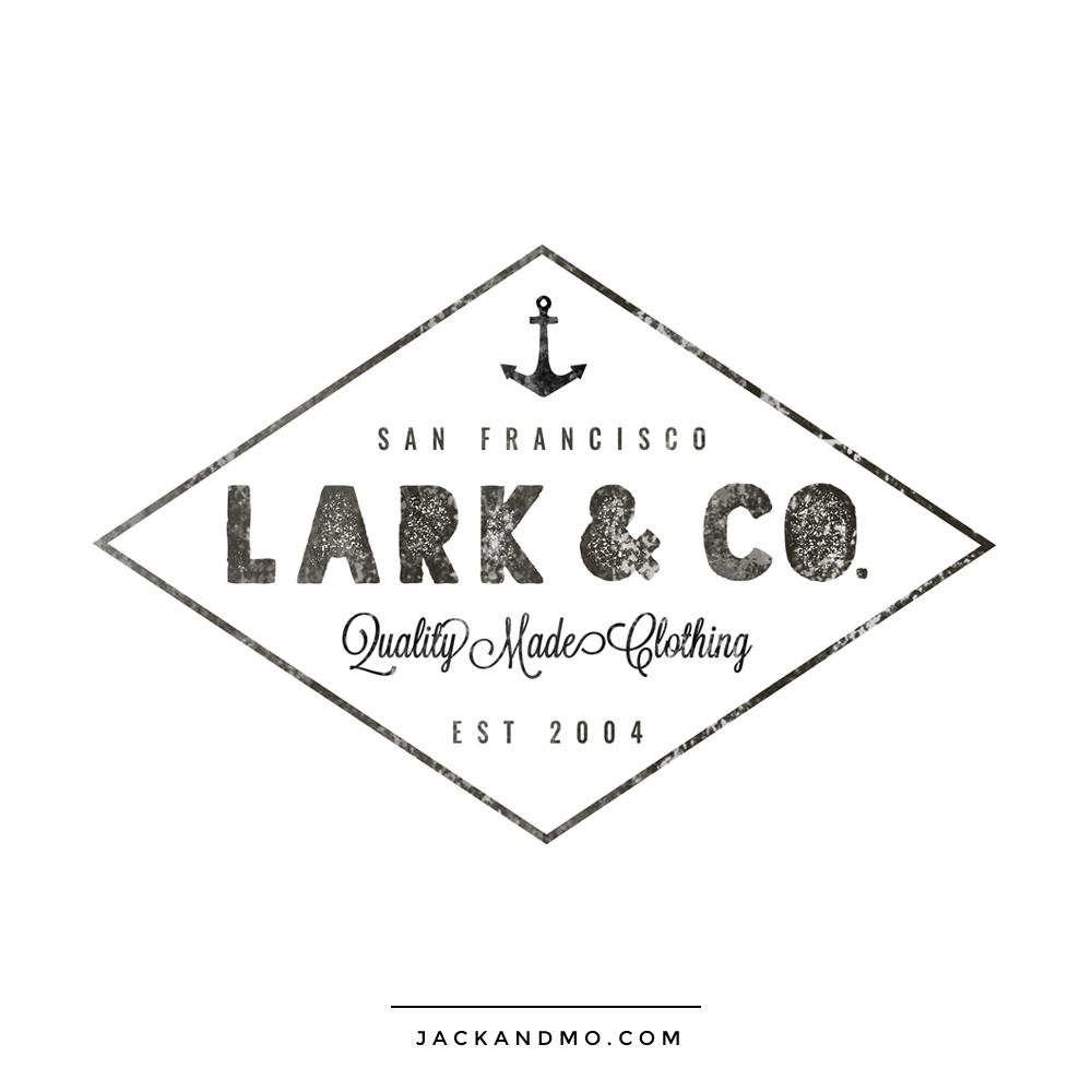 lark_and_co_vintage_logo_design