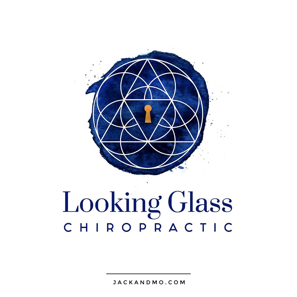 looking_glass_chiropractic_logo_design