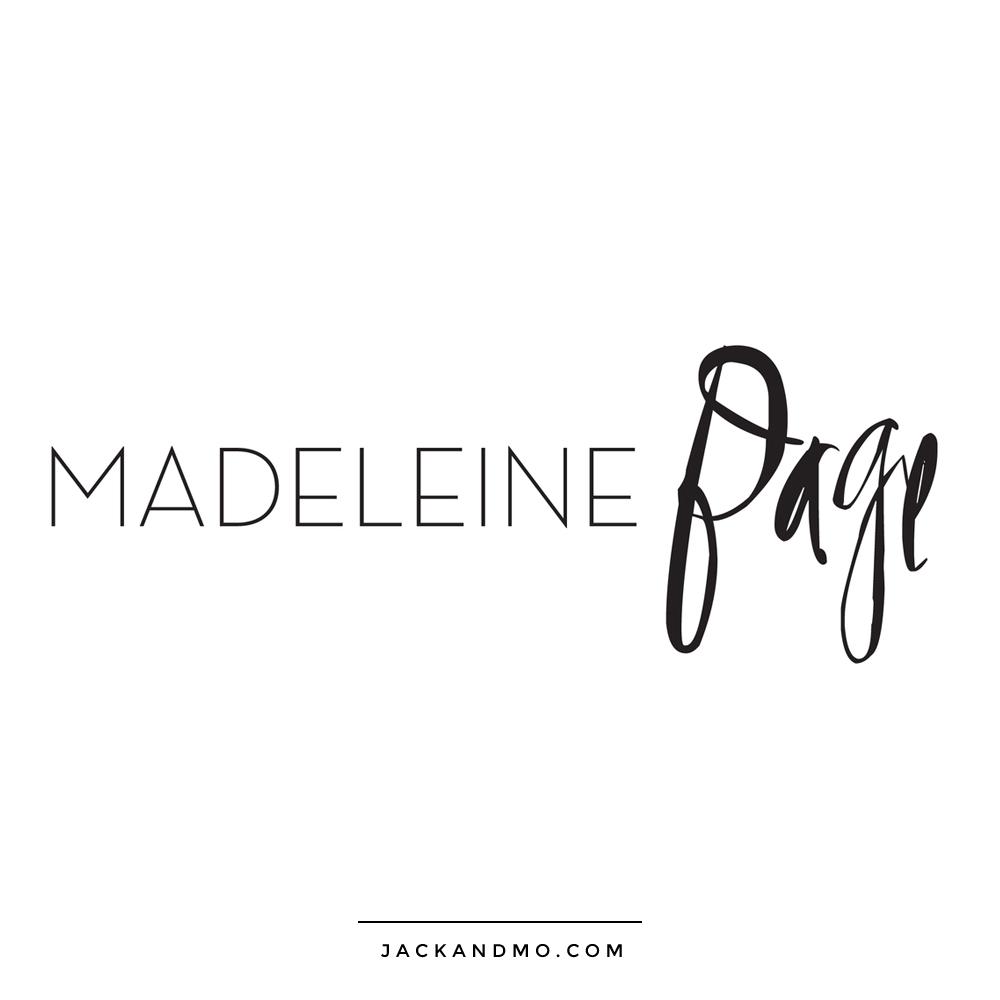 madeleine_page_makeup_artist_logo