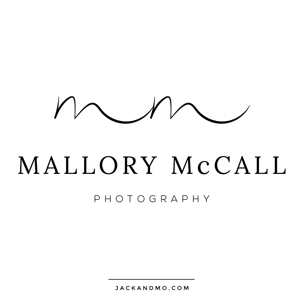 Minimalist Logo Design by Hand Unique Boutique Design by Jack and Mo