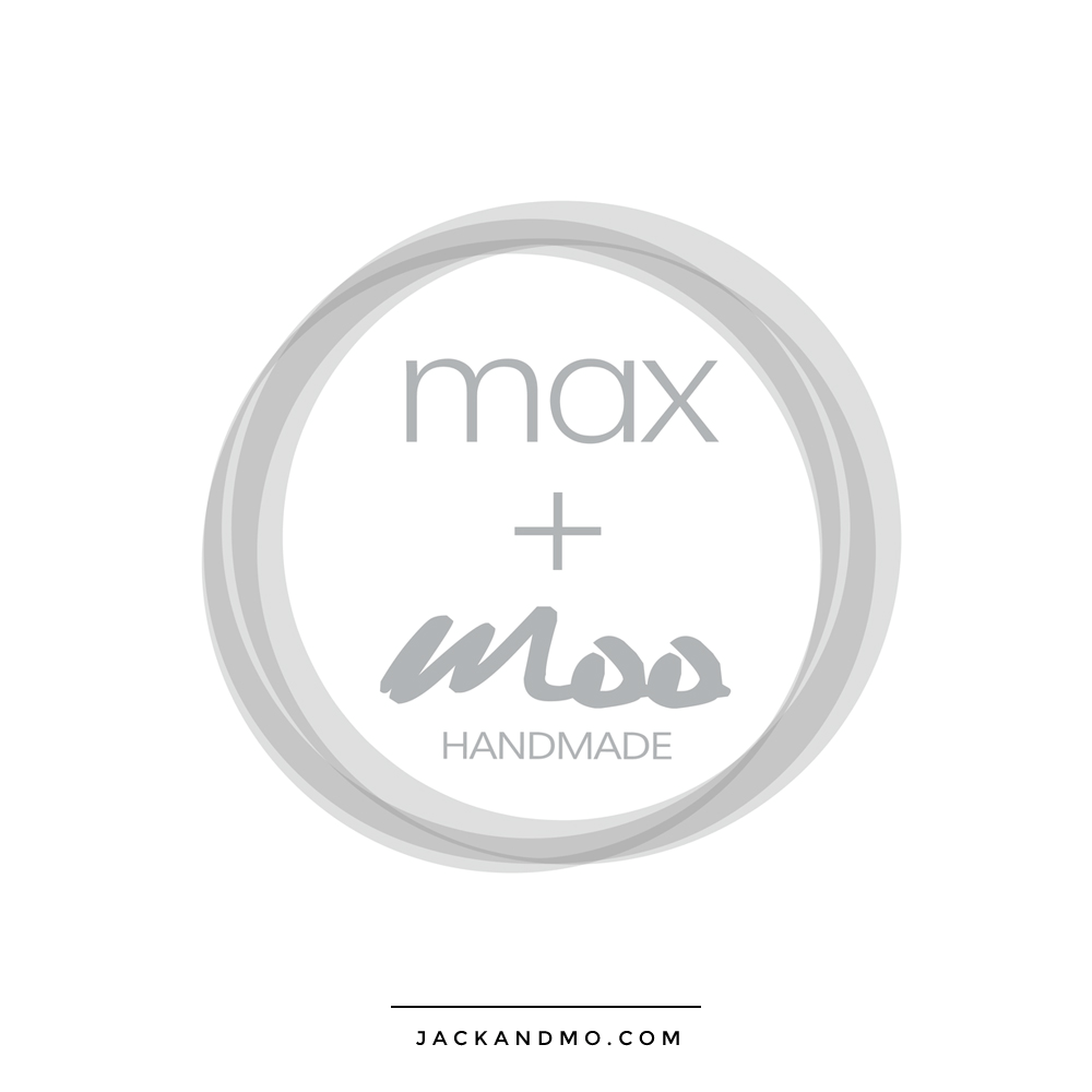 Cute Gray Simple Logo Design by Jack and Mo