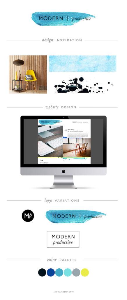Modern logo design and branding, custom