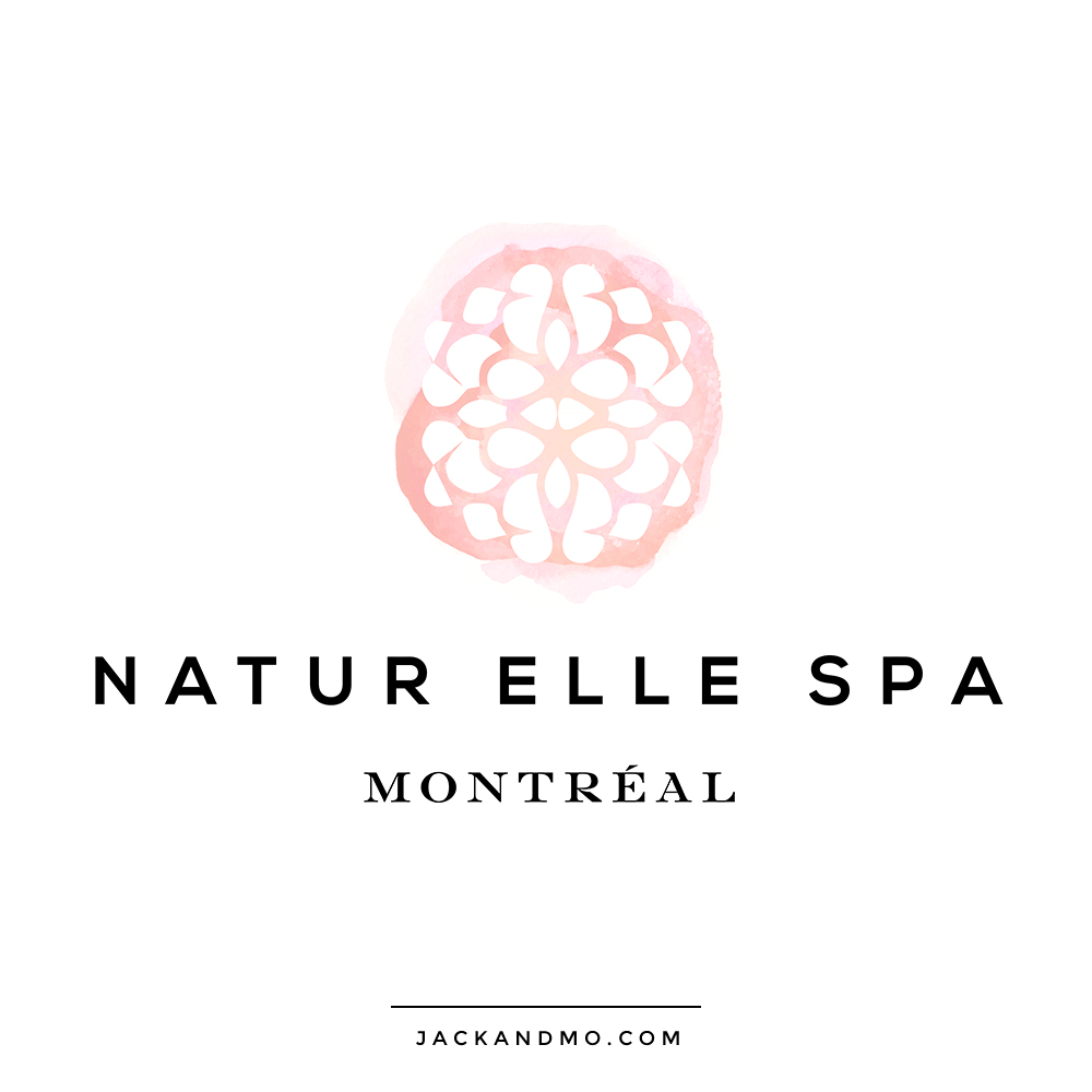 Montreal Gorgeous Watercolor Custom Logo Design by Jack and Mo