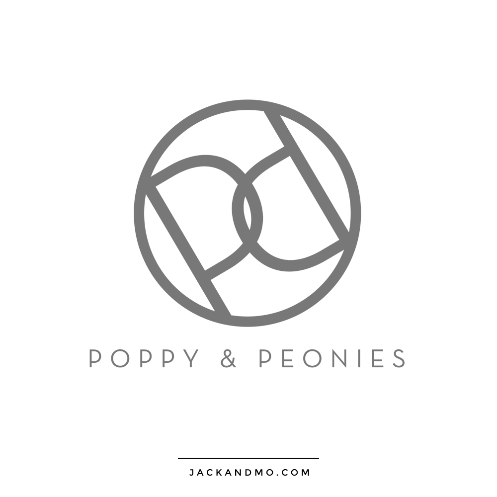 poppies_and_peonies_logo_design