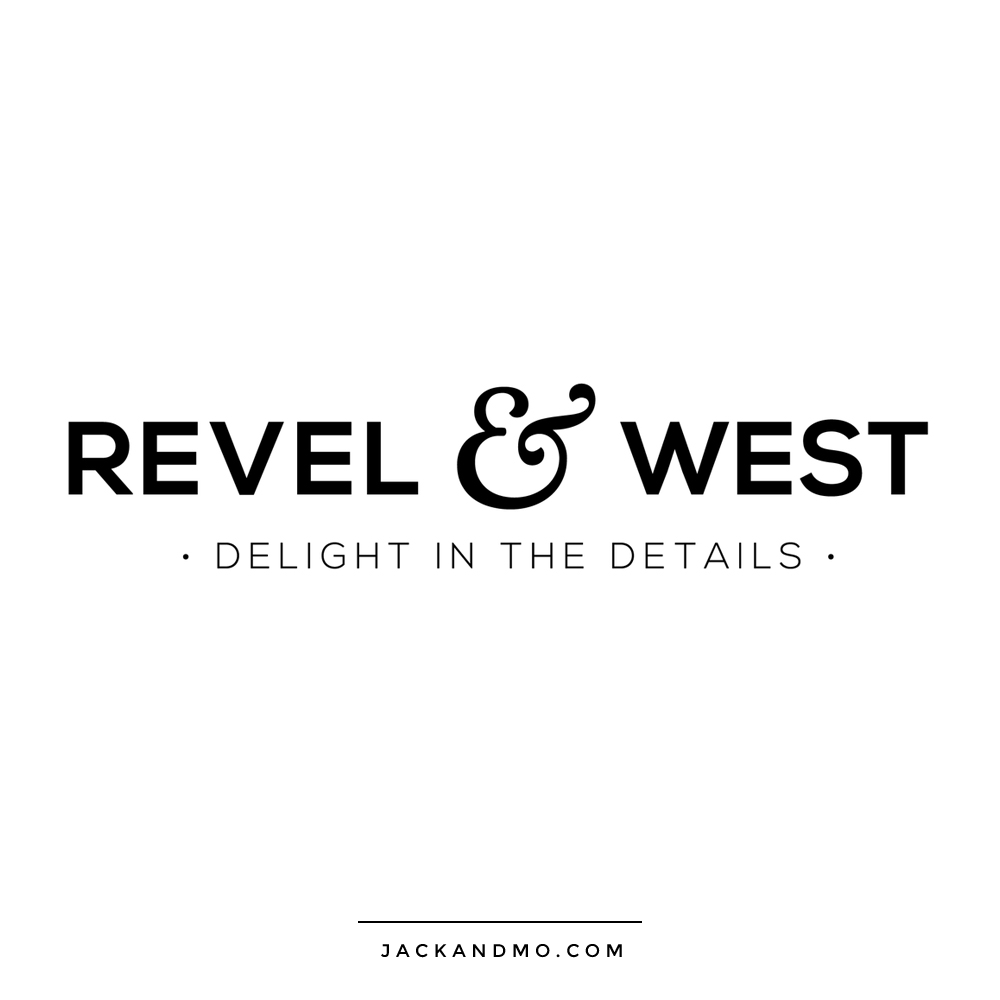 Simple Black and White Text Logo for a Boutique by Jack and Mo