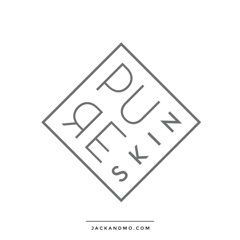 Pure Skin Cosmetics Logo Design Custom by Jack and Mo Raleigh NC