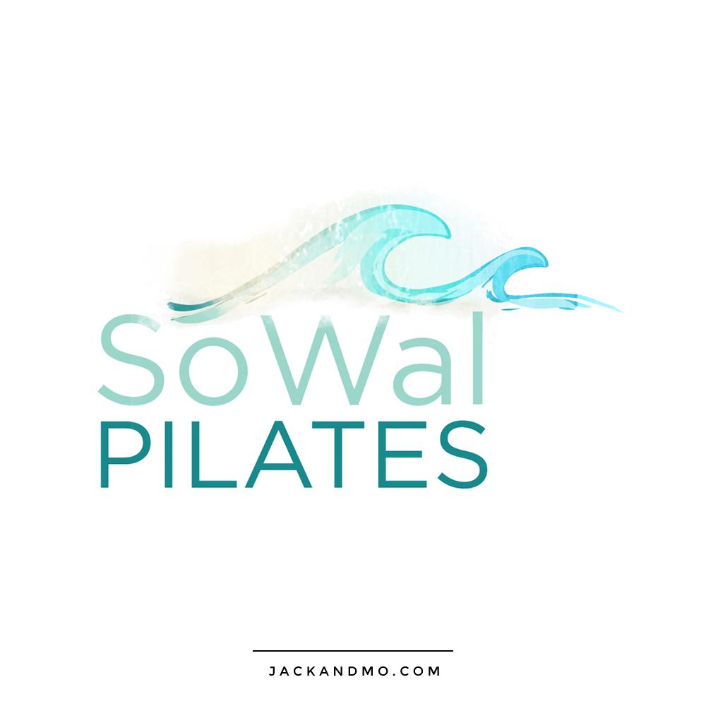 so_wal_pilates_logo_design