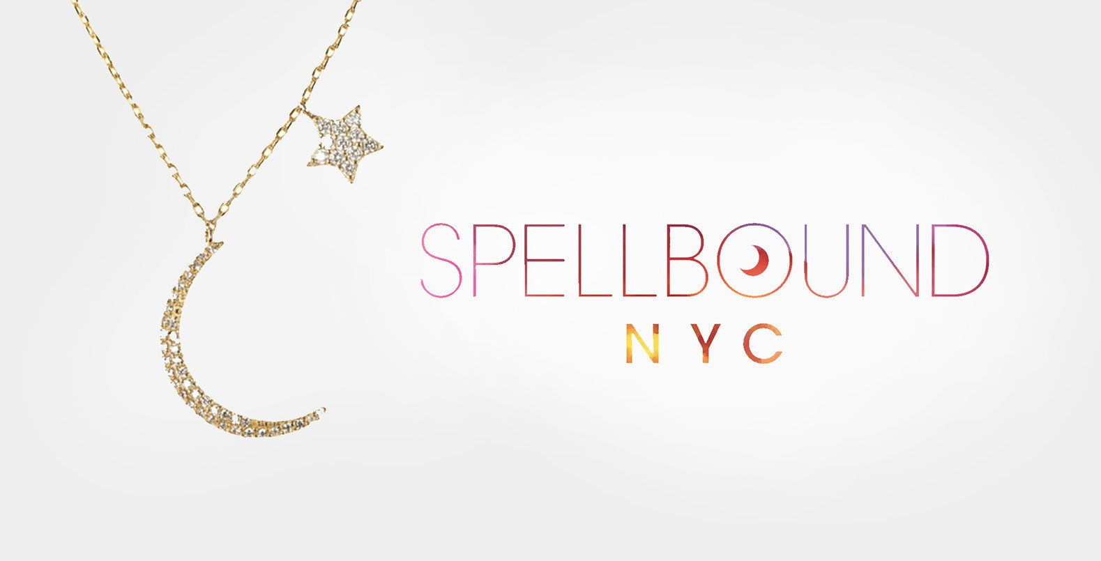 Spellbound, a unique hand-painted logo design for a jewelry company