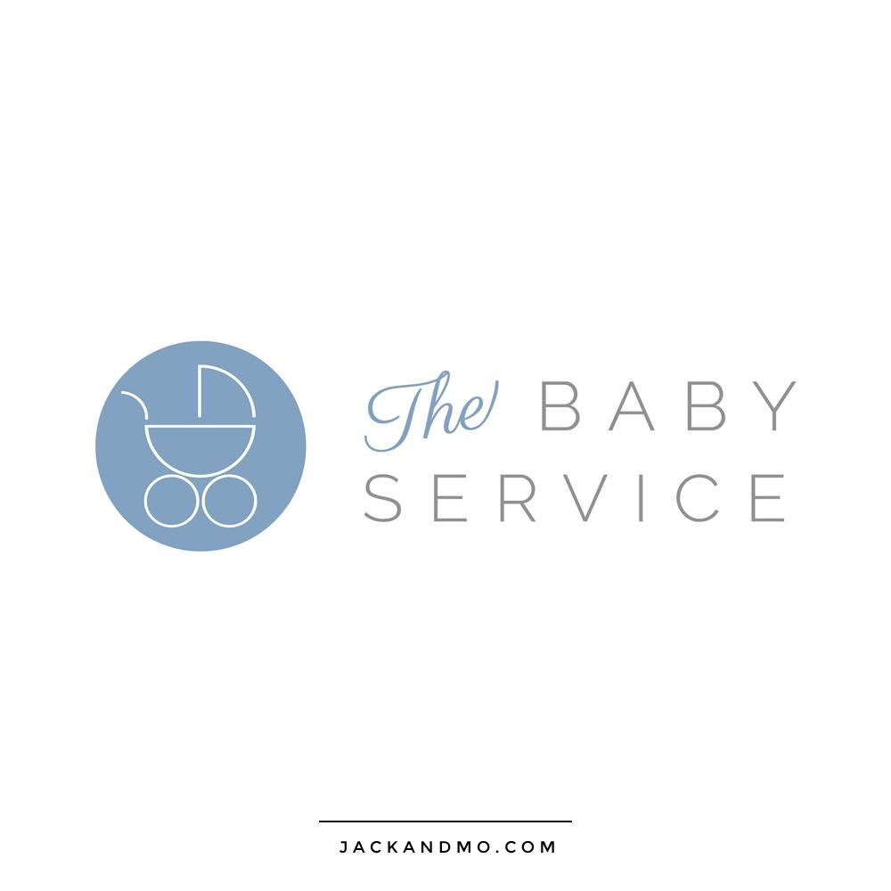 the_baby_service_logo_design