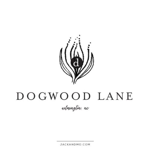 The Dogwood Premade Logo