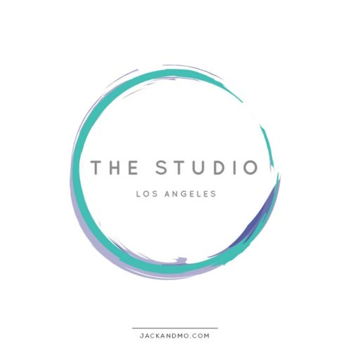 Two Toned Watercolor Premade Logo Design