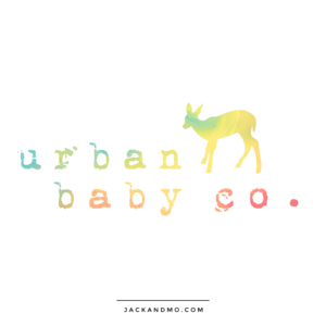 Cute Watercolor Logo of a Deer, Fawn Custom Boutique Logo Jack and Mo