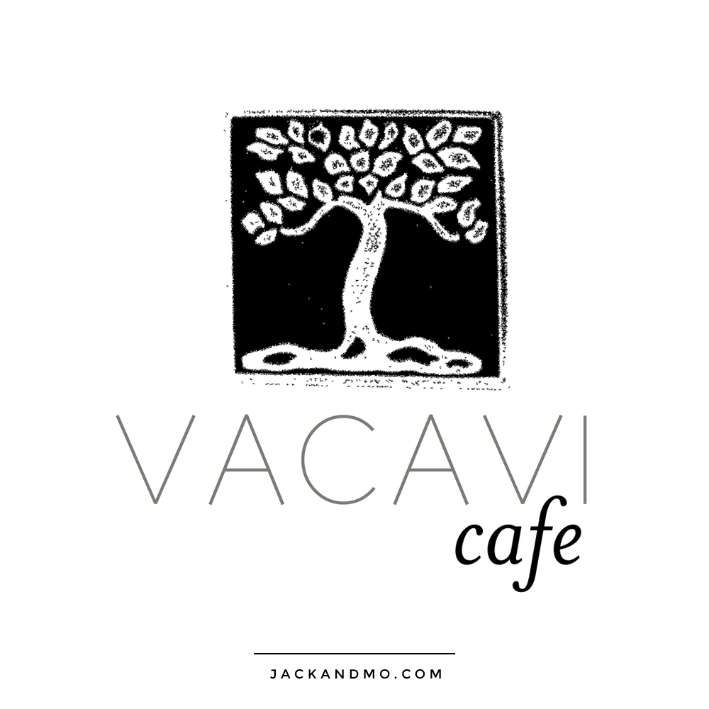Black and White Cool Tree Illustration for Coffee and Cafe by Jack and Mo Raleigh NC