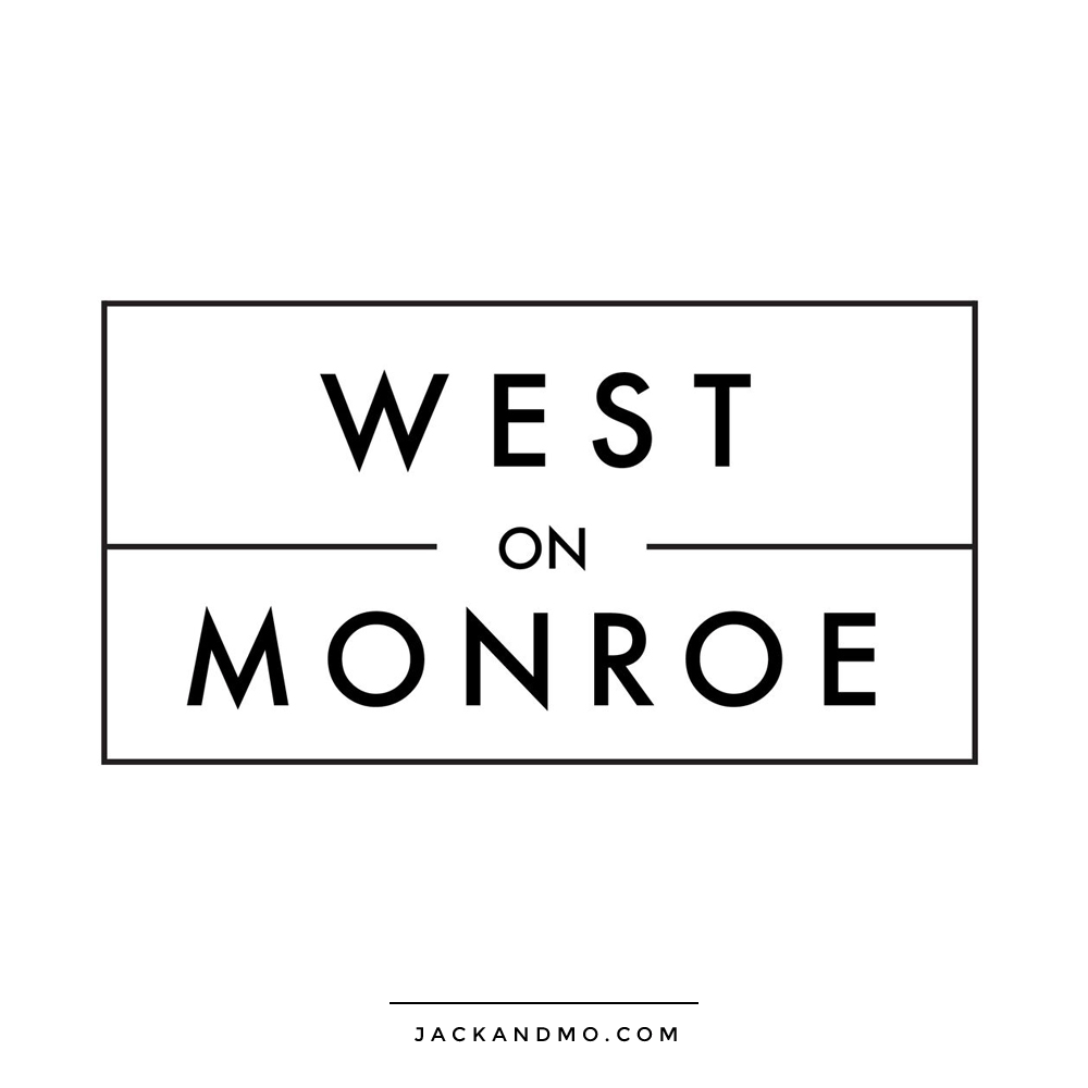 Very Simple Black and White Boutique Logo Design, Jack and Mo