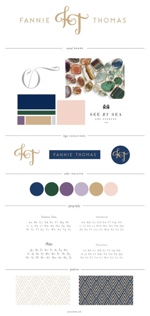 Luxe Jewelry Design Logo Design and Branding, Custom, Boutique