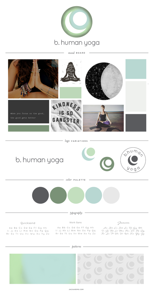 Logo Design and Branding for Yoga Studio