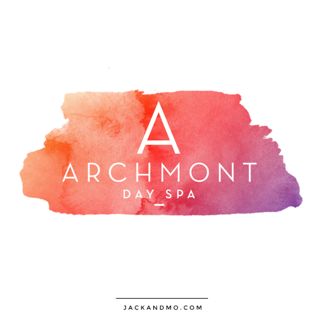 Beautiful Watercolor Logo Design for Spa, Yoga Studio by Jack and Mo