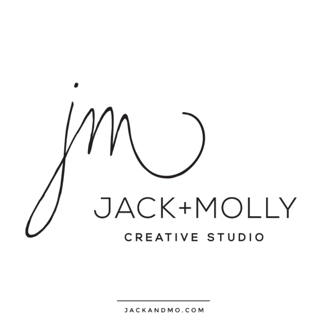Simple Signature Logo Design Custom by Jack and Mo